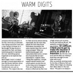 Warm Digits in NARC. Magazine
